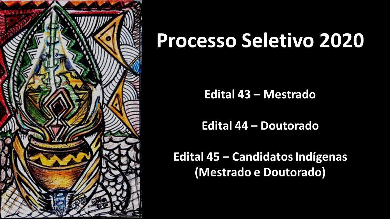 PPGAS/UFAM e PROPESP lançam editais para o Processo Seletivo de Mestrado e Doutorado 2020